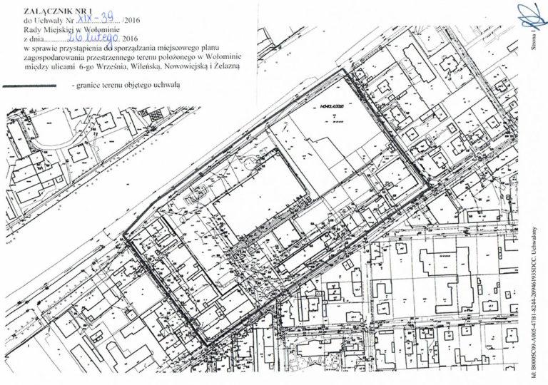 6-go Września, Wileńska, Nowowiejska i Żelazna – miejscowy plan do wglądu